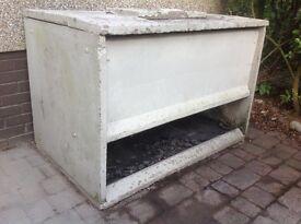 FREE - Concrete Coal Bunker