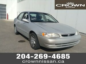1999 Corolla As Traded