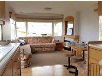 CHEAP STATIC CARAVAN FOR SALE SITED ON TY MAWR HOLIDAY PARK IN TOWYN NORTH WALES