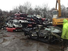 Free uplift for scrap vehicles