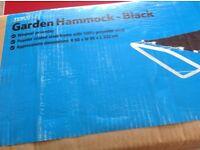 Brand New Garden Hammock - Still in box.