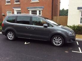 Seat Alhambra 2.0 TDi SE Lux excellent Condition inside & out