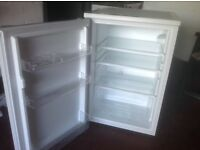 Just over 1 year old undercounter fridge in good condition, capacity 133 litres