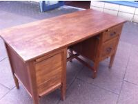 Vintage teachers desk,in good vintage condition