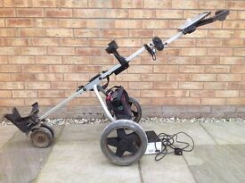 Electric golf trolley, not Moto Caddy or Power Caddy