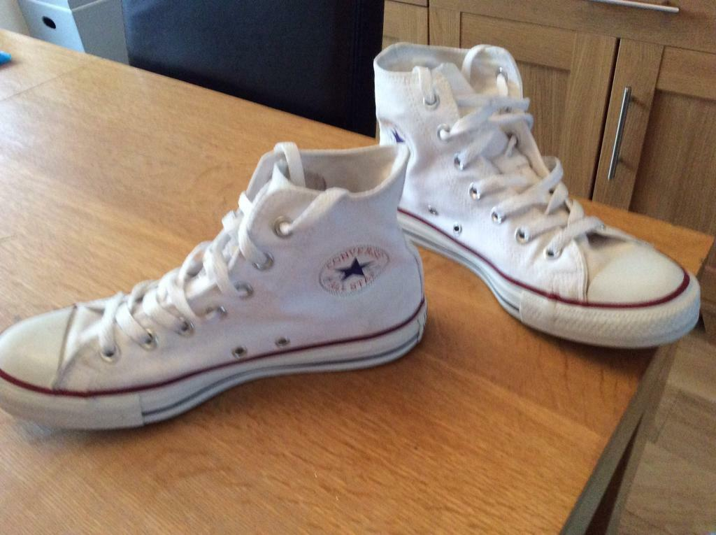 Genuine White Converse Sneaker UK 6