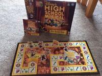 High school dvd board game