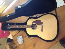 Gibson j15 2017 model absolutely gorgeous condition.Treasured possession