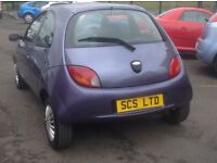 FORD KA STYLE 1.3 57 PLATE ONLY 37000 MILES FSH (5 stamps) MOT ONE YEAR METALLIC PURPLE