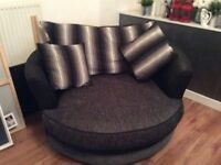 3&2 seater corner sofa and armchair