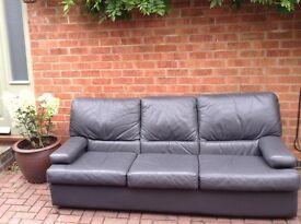 Tetrad leather sofa