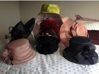 A selection of ladies designer hats.