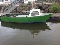 21ft Fibreglass fishing boat