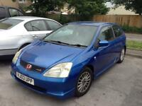 2003 HONDA CIVIC SPORT type S with type R extras