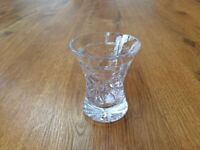 Cut Glass Small Posy Vase