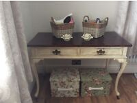 Vintage French style writing desk/dressing table