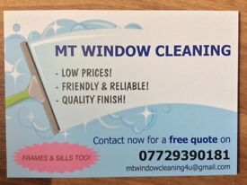 MT WINDOW CLEANING