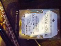 Hard Drive 250 Gig ( Laptop)