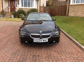 BMW 645i 2004 only 37000 miles immaculate for the loads of spec a must see to appreciate