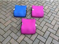 Travel car seats x 3