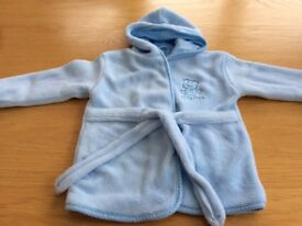 Baby boy dressing gown aged 12/18 months