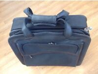 Laptop bag, wheelie bag