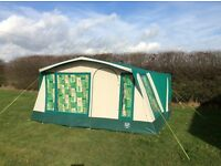 6 BERTH CANVAS TENT SUNCAMP PALACE