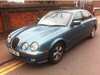 JAGUAR S-TYPE 3.0 V6 SE EDITION, AUTOMATIC, ONLY 43811 MILES, FULLY LOADED, EASY REPAIR, BARGAIN