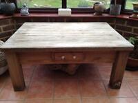 Beautiful rustic large pine table