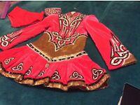 Irish dance dress 8-11 years Devlin design- stunning