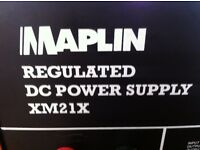 13.8V DC Power Supply for powering or bench-testing CB Radio etc.