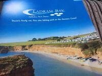 8 berth 3 bedroom caravan for hire in Ladrum Bay in Devon