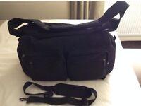 Black Holdall, Gym Bag, Overnight Bag, Weekend Bag