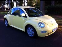 VOLKSWAGEN VW BEETLE 2.0, 5 SPEED MANUAL, LOW MILEAGE, 2 OWNER, GOOD CONDITION INSIDE OUT, BARGAIN