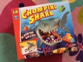Chomping Shark board game