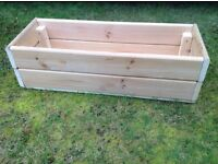 For sale - wooden planter