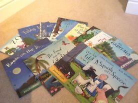 Twelve Julia Donaldson kids books