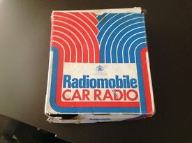 Car radio brand new 1960s eara still in box