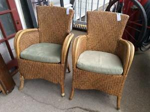 Rattan Arm Chairs