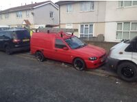 Here I have my escort van for sale ready for work roof rack and alloys