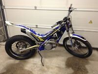 2015 Sherco ST 125 trials bike with V5