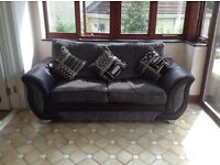 DFS Sofa bed with matching scatter cushions