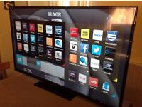 """LUXOR 50"""" SUPER Smart FHD TV,built in Wifi,Freeview HD, NETFLIX,GREAT Condition"""