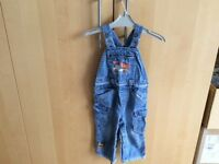 Next denim dungarees 1.5-2 years, excellent condition