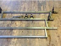 Rhino Industrial Bars Roof Rack Bars and Roller for Van