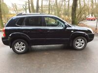 STUNNING 2007 Hyundai Tucson Diesel 4x4. MOT August. 1 previous keeper with FSH. P/X Is Possible