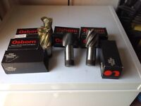 End Mills and Slot Drills various sizes