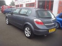 VAUXHALL ASTRA SXI 1.6 56 plate 89000 miles MOT ONE YEAR METALLIC GREY 5 door free warranty