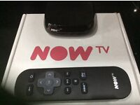 Now tv box with 11 months gift