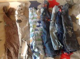 Boys 6-9 9-12 months clothing joblot 56 items
